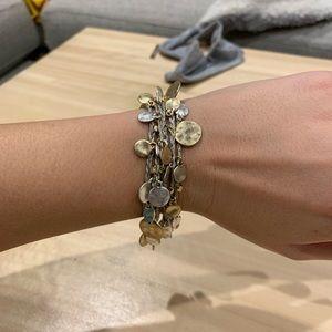 Stella & Dot versatile necklace/ wrap bracelet.